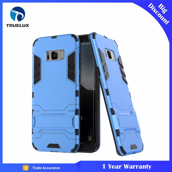 PC TPU Slim Armor Cell Phone Back Cover Case For Samsung Galaxy S8