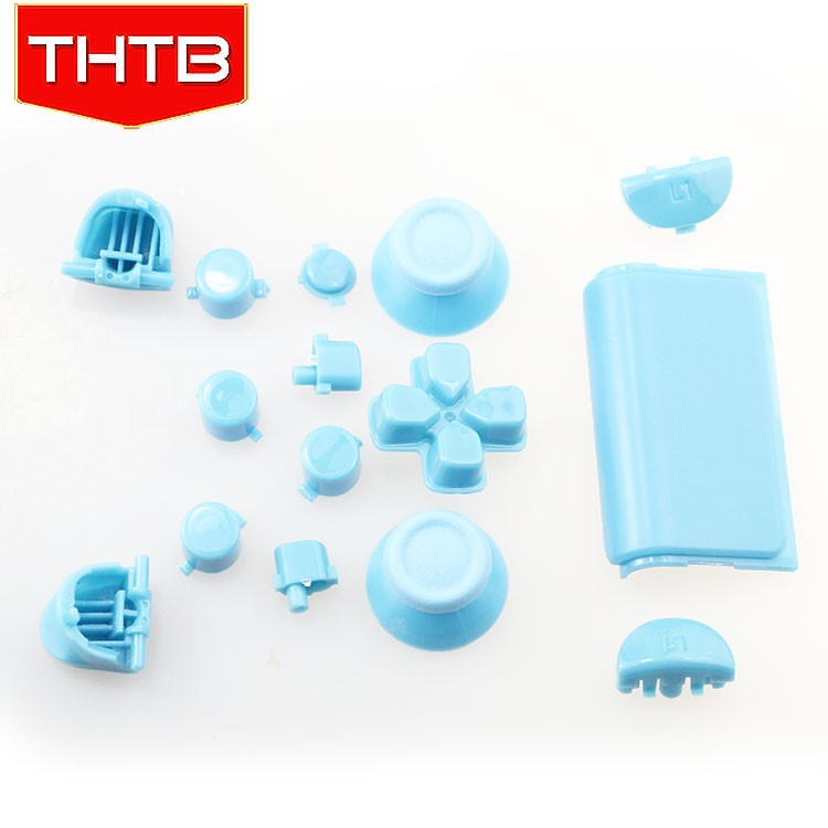 Exclusive Polish Light blue hard case for ps4 controller housing shell