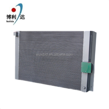 high efficient bar plate oil cooler for air compreesor