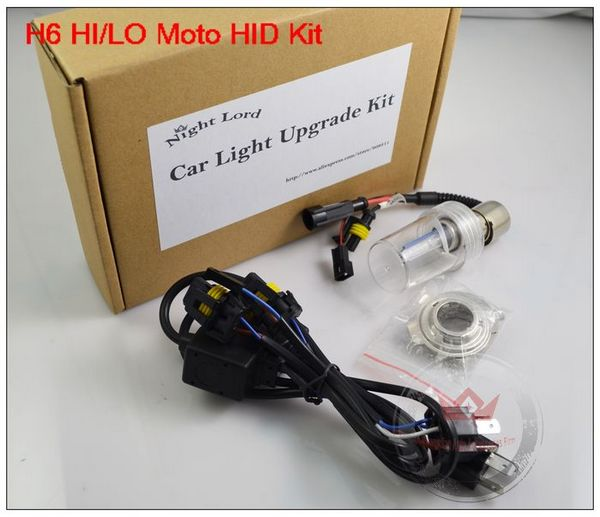 Wholesale High Quality HID Xenon Kit For Motorcyle HID Kit 12V DC With H6 Moving Beam