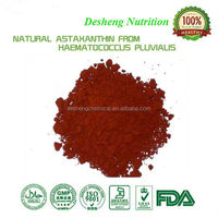 natural Astaxanthin1-5% , 100% Pure Haematococcus pluvialis extract , powderful anti-oxidant
