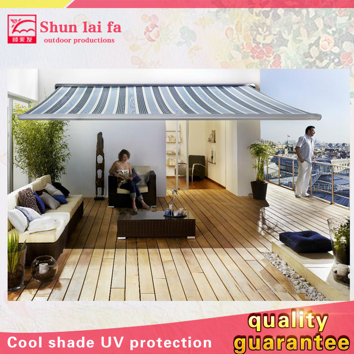 Custom Used Balcony Retractable Awnings Cover Diy for Sale