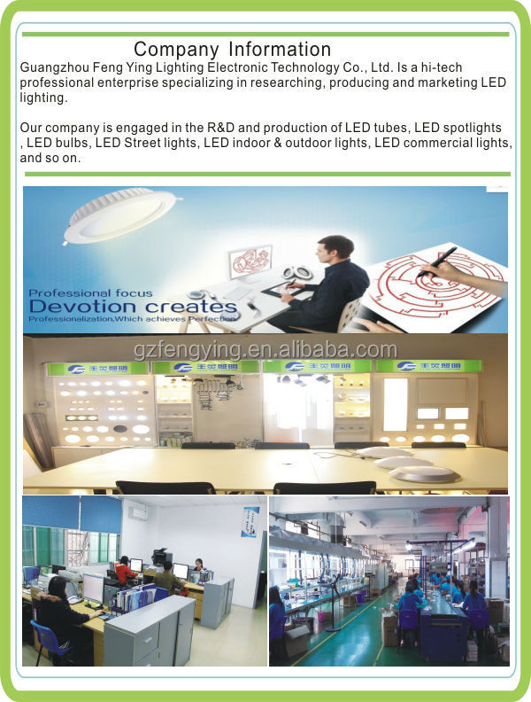 led suspended ceiling grden spot dressing room MR16 lights 6w