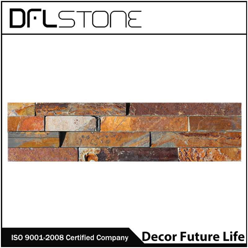 DFL-1120ZRB Rustic Stone Wall Cladding/ Cultured Stone/ Home Depot Stone Wall