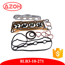 Auto Spare Parts Engine overhaul Gasket Complete Set 8LB3-10-271 replace for mazda 2 1.2L protege 5