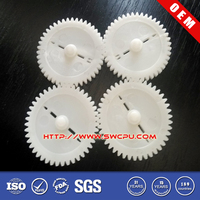 Injection Mould small appliance nylon cogs plastic gears for counter