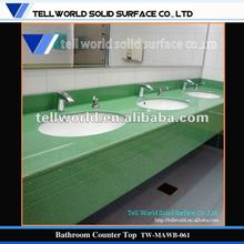Artificial Stone Green Tolit Counter Top