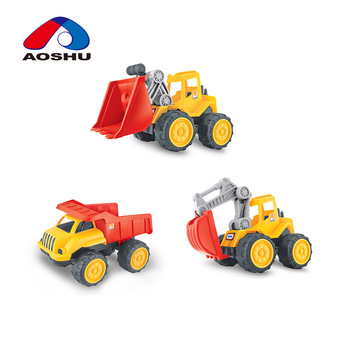 Three kinds mixed taxiing truck engineering toys for kids