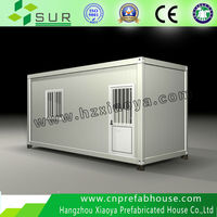 CE,BV,ISO certification container 20ft Modified portable house shipping container prefab house