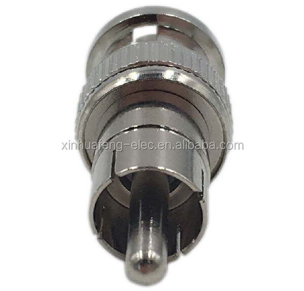 Zhenjiang Factory direct BNC to RCA male connector