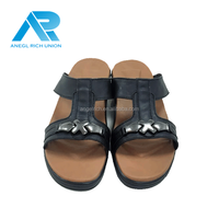 Hot latest design mens sandal beach leather for outdoor