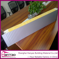 Fast And Esay Install Construction Fireproof Lightweight Rock Wool Sandwich Panels Type Rockwool Insulation Panel