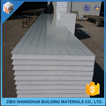 100mm heat insulation materials 10KG eps sandwich wall <strong>panel</strong>