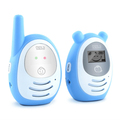 long range communication interphone temperature lcd digital dect phone  baby monitor