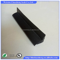 produce various safety edge rubber seal strip for garage door according to your drawing or sample
