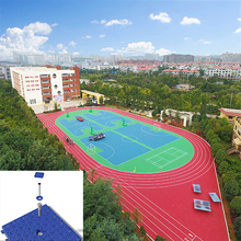 Factory Promotion Synthetic Badminton Court Flooring Material Supplier