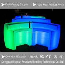 Hot Sale color changeable rgb led bar table funiture
