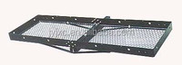 Hitch mounted Fixed Shank Tray Cargo Carrier