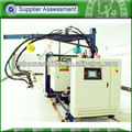 Steel wheel foam injection machine