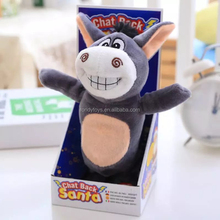 christmas toy talking and walking donkey repeat toy