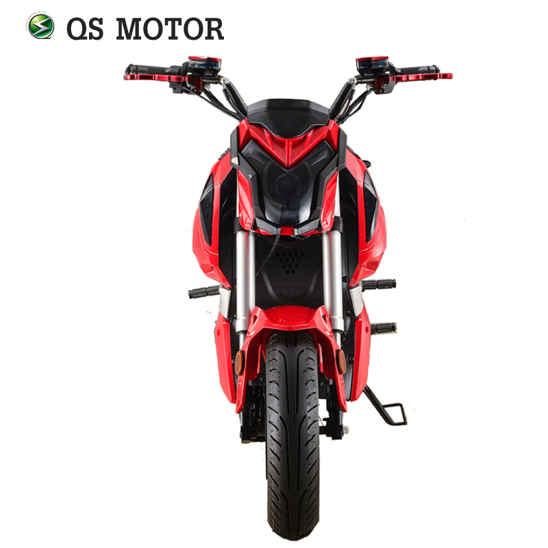 Super Power Z6 Electric Motorcycle 3000w QS mid drive motor top speed 100kph for adults