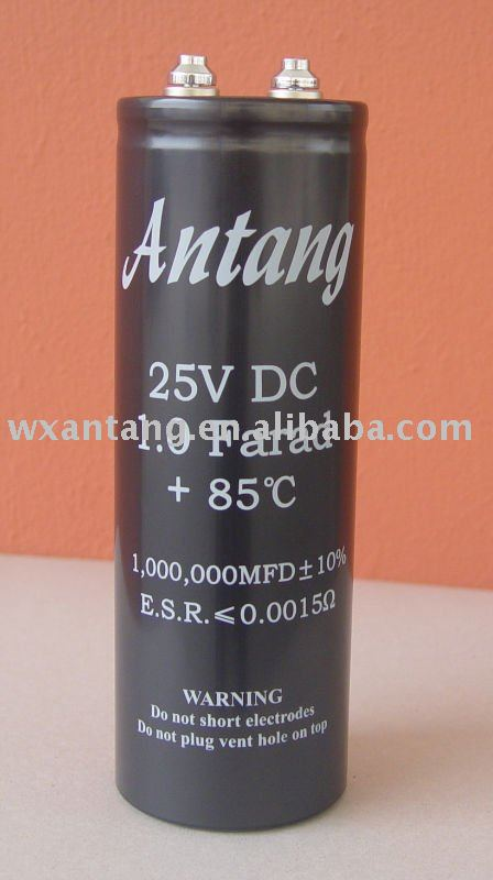 Aluminum Electrolytic Capacitor designed for Industrial Usage