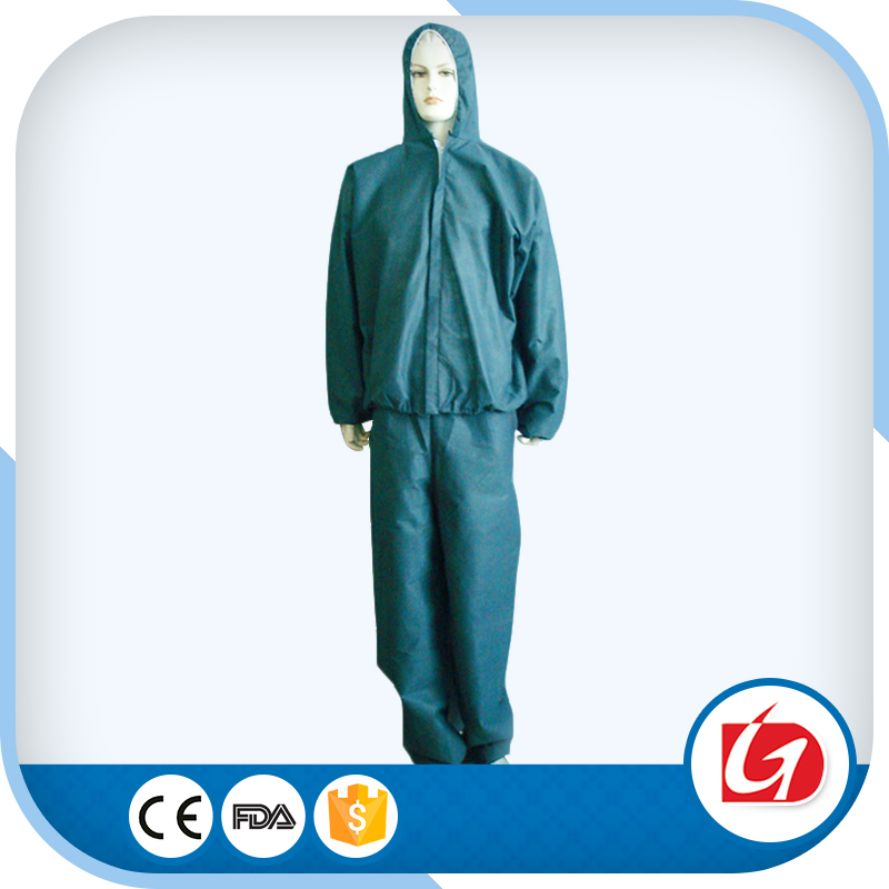 bulk wholesale clothing/bulk Safety Disposable Coverall/reflective safety coverall