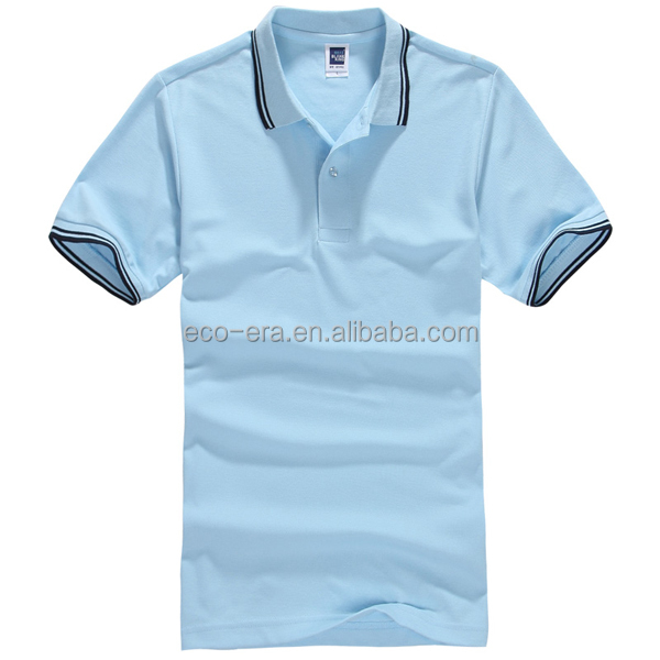 Wholesale <strong>T</strong> <strong>shirts</strong> 200g 65% Cotton 35% Polyester Yarn Dyed Polo <strong>T</strong>-<strong>shirt</strong> Mens Polo <strong>Shirt</strong> Custom Printing / Embroidery Design