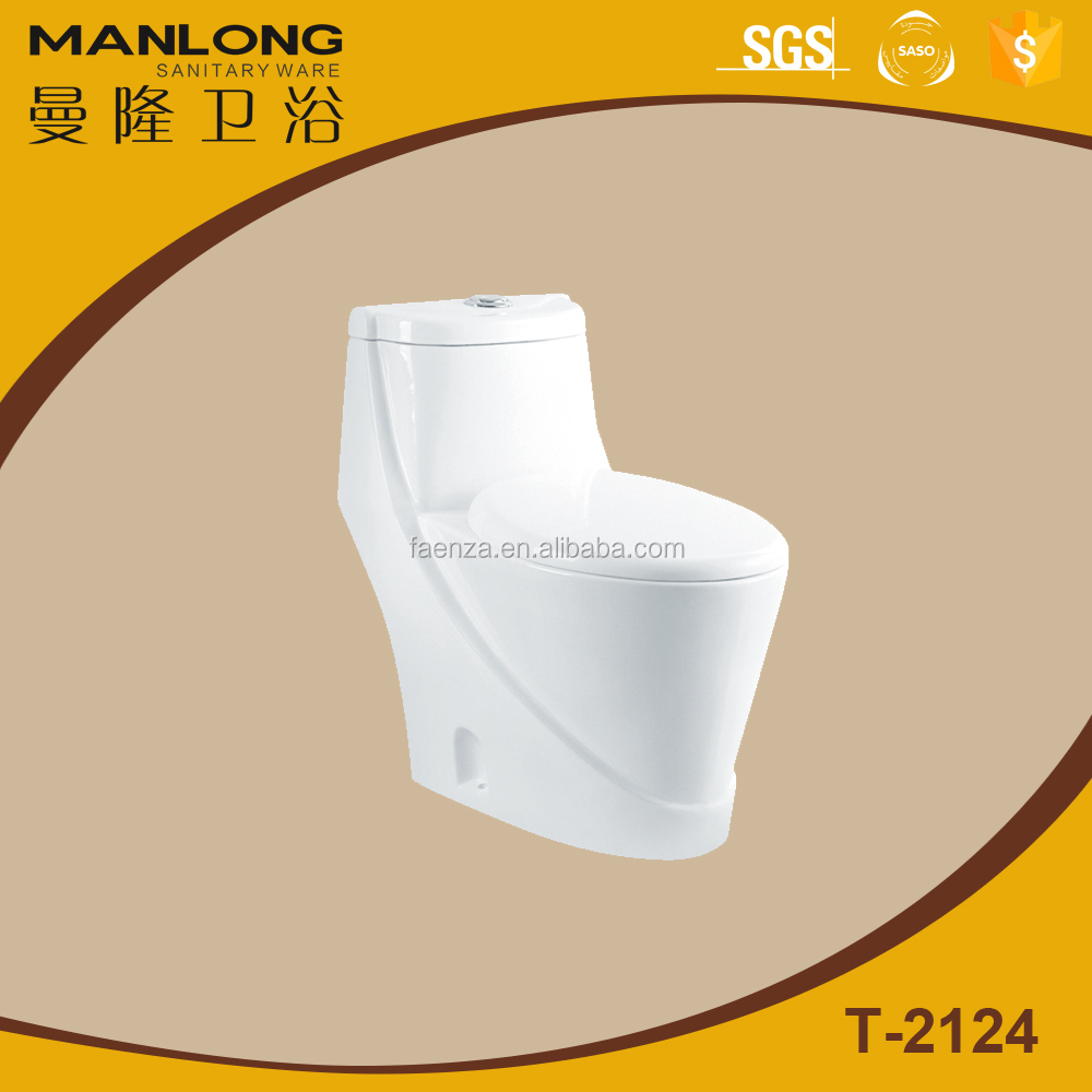 hot selling/economic toilet/porcelain one piece toilet bowl