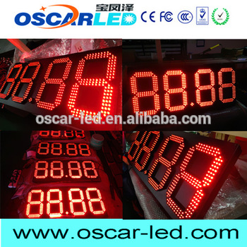 brand new led digital wall clock battery operated oscarled