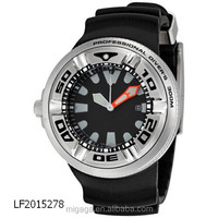 Professional Diver Black Sport Watch