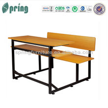 double seat school desk CT-314
