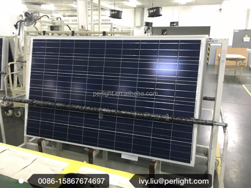 Poly 260 Watt Solar Panel From Motech 20kw Power System Use