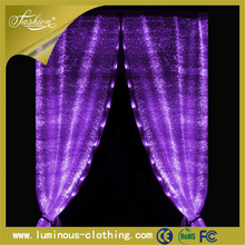 fiber optic ligth decor latest luminous atmosphere fashion curtain designs