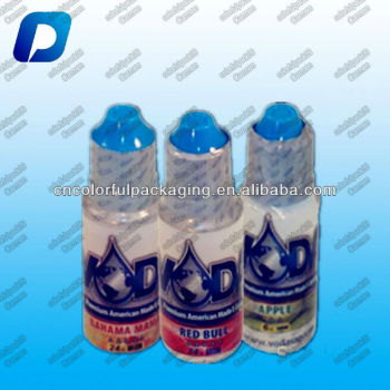 15ml bottle shrink wrap/small bottle shrink wrap/PVC printed shrink wrap labels supplier