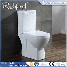 Hot sale P-Trap Dual-Flush modern toilet parts names for hotel