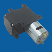 17L/M dc 12V electric mini brush diaphragm small size vacuum pump