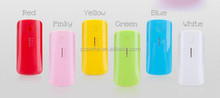 shenzhen factory supply portable power bank 5200mah emergency mobile chareger for Tablet PC, smart phone,