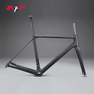 2018 Chinese most popular products carbon road frame 910g only with disc brake bike FM088