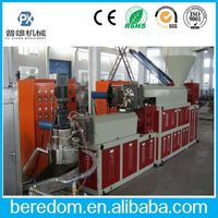 High Efficiency Plastic Pp Pe Film And Fiber Agglomerator Compounder