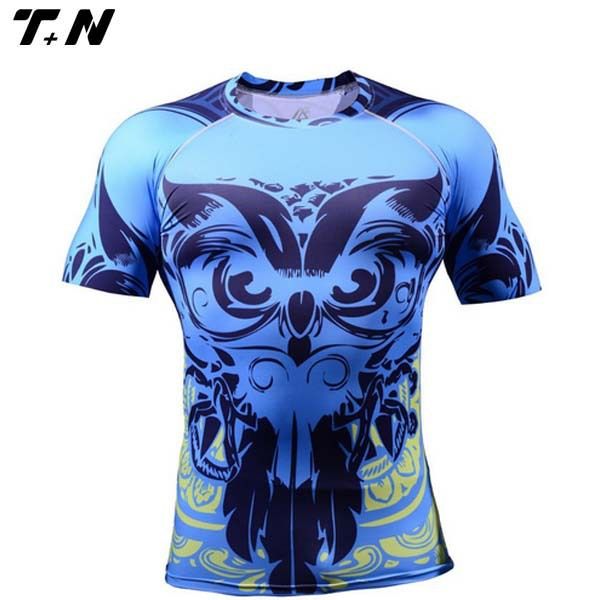 Lycra rash guard surf shirt/ padded rash guard/ kids rash guard