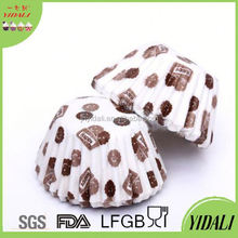 disposable paper cup cover /cup lid brown paper baking cups