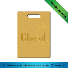 Top quality paper bag /luxury paper bag for olive oil
