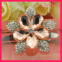 Wholesale big rhinestone brooch WBR-1241