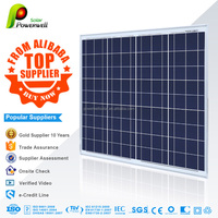 75w 18v Poly solar panel high quality good price with CEC/IEC/TUV/ISO/INMETR certifications