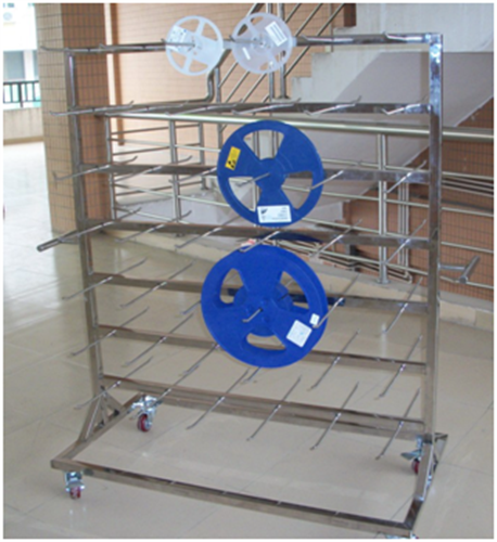 ESD antistatic trolley SMT reel storage