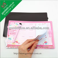 Magnetic shopping List / magnetic sticky note pad / memo pad with sticky note