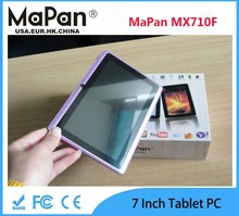 Android 4.4 Operating System and 512MB Memory Capacity 7 inch factory cheap android tablet MaPan