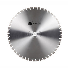 Cheap and sharp laser-welded diamond saw blades for quarry exploitation, cutting granite and marble