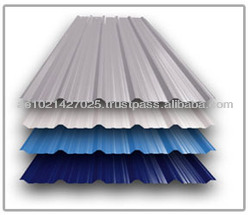 Single Skin 35/200 mm Roofing Profile Roofing Sheet for Building Materials in djibouti port